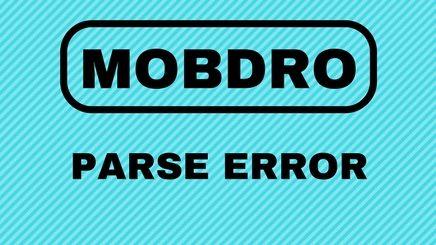 Parse Error