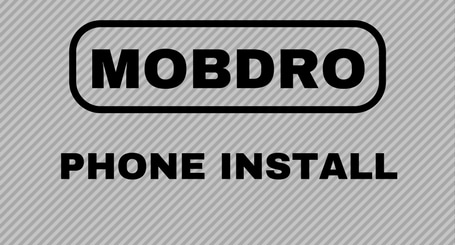 Mobdro On Your Phone