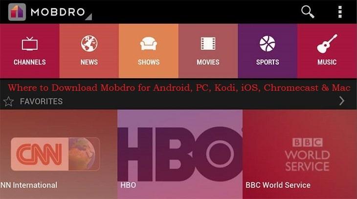 where to download mobdro